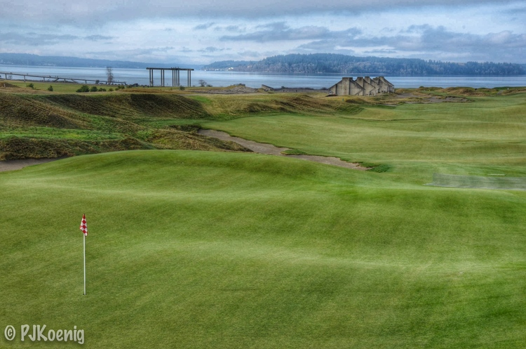 Patrick Koenig Photography - Chambers Bay 18th hole