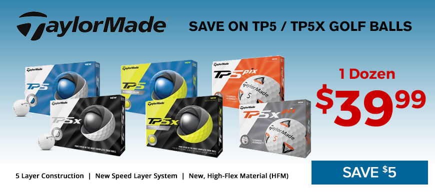 TaylorMAde TP5 Balls Now only $39.99