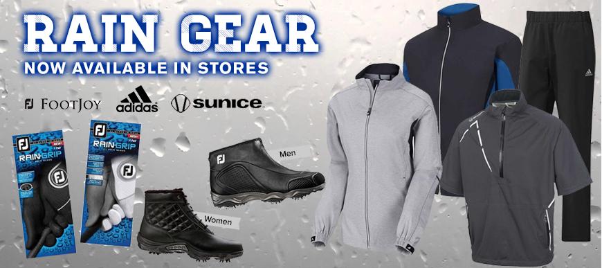 Save on Golf Rain Gear