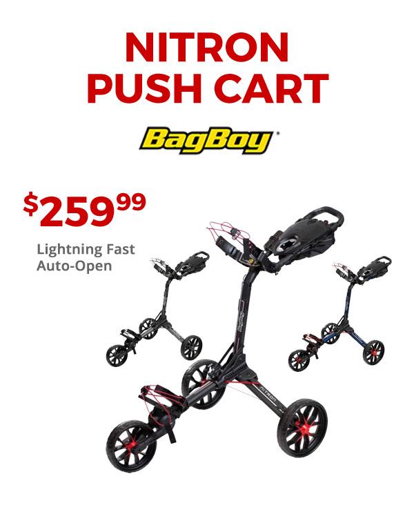 Nitron Push Cart $259.99