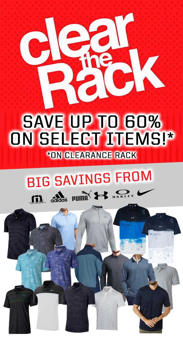 Clear the Rack at Pro Golf!