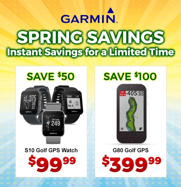 Garmin Savings