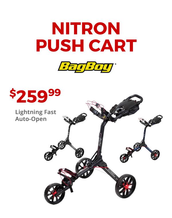 Nitron Push Carts in stock