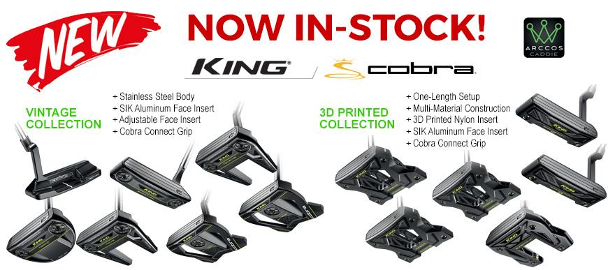 new cobra putters in stock